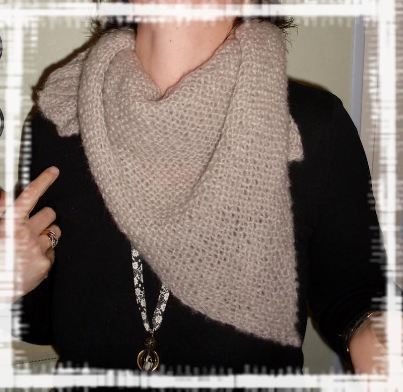 tricoter un cheche